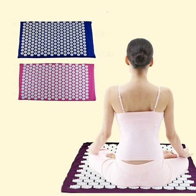 Acupressure Acupuncture Mat Healing Massager Spike Stress Bodily relief yoga AL1