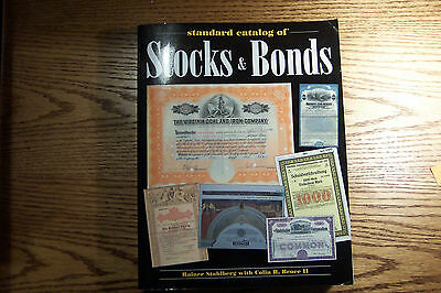 "Standard Catalog of Stocks & Bonds  Stahlberg & Bruce 8 1/2"" x 11""   2002"