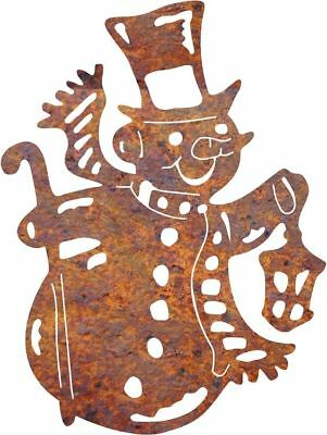 DXF CNC dxf for Plasma Router Vector Snowman 3 Yard Stake Wall Decor