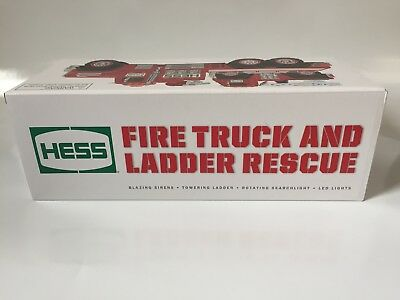 New 2015 51st Hess Collectible Toy Fire Truck and Ladder Rescue BRAND NEW!!!!