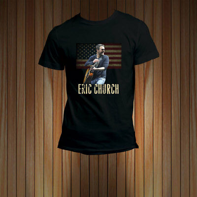 Eric Church North American Villiage Singer Holden My Own Concert Tour T-Shirt