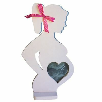 Wooden Photo Picture Frame for Pregnant Women Wedding Ornaments Decorations G5X2