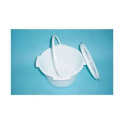 NEW Commode Pan and Lid Home Health Care Equipment