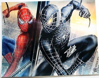 Stan Lee Autographed Singed Spider Man Poster (Stan Lee Authenticated) 1