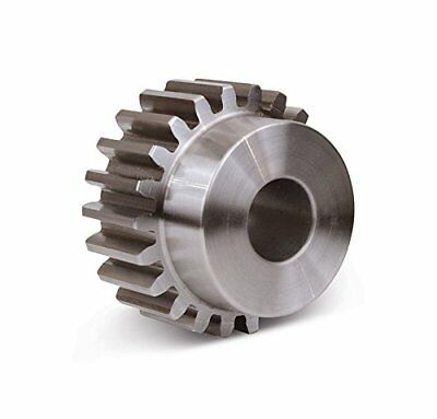 Boston Gear ND15B Spur Gear, 14.5 Pressure Angle, Steel, Inch, 12 Pitch, 0.625""