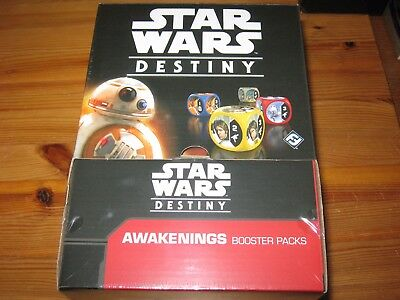 Star Wars Destiny Awakenings Booster box new and sealed