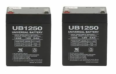 Razor E100 E125 E150 Electric Scooter Battery 2 12V 5AH By UPG Universal