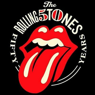 The Rolling Stones 50 Years Sticker or Magnet