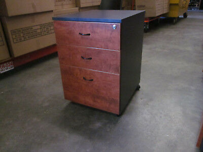 Second-hand Mobile Pedestal 682mm H x 467mm W x 530mm D many available NO KEY