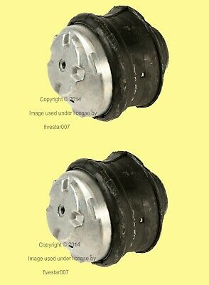 2 OEM Corteco Left+Right Engine Motor Mounts Insulator Carrier Mountings for BMW