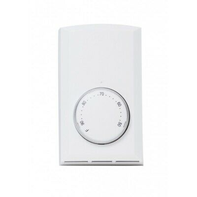 Cadet  Wall Mount  Heating  Dial  Single Pole Thermostat