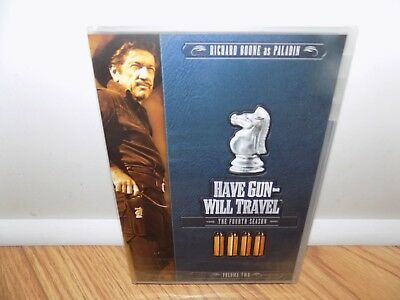 Have Gun, Will Travel: The Fourth Season, Vol. 2 (DVD, 2010, 3-Disc Set) NEW