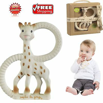 SOPHIE LA GIRAFE Sophie The Giraffe Teething Toy Sophie Teether in Gift Box