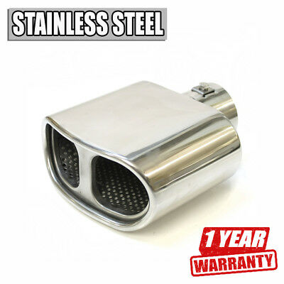 Tuning Exhaust Tip Muffler Trim Pipe Chrome For Honda Accord Civic CR-V CRX