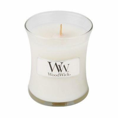 Pajoma 62473 Woodwick Candles Linen, 93 G - NUOVO