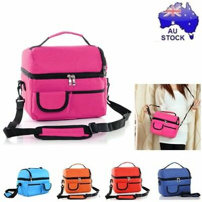Portable Picnic Lunch Bag Insulated Storage Thermal Cooler For School Office