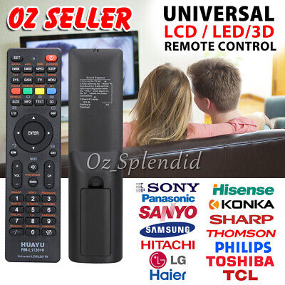 Universal LCD/LED/3D TV Remote for Samsung/Panasonic/TCL/PHILIPS/TOSHIBA/JVC AU