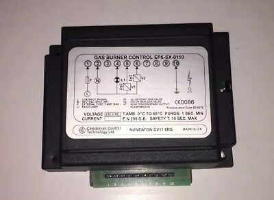 Caledonian EP6-SX-0110 230v Andrews G122 EP61SP Gas Burner control Box 84/87 GB