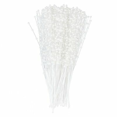 Faux Pearl Bead Sprays Bouquet Cake Flower Craft Pack of Approx.100 Stems ( L6I7