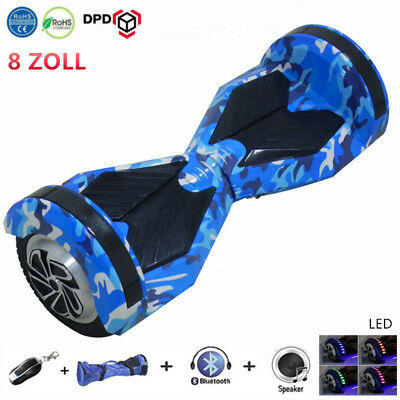 8 zoll led bluetooth elektro scooter hoverboard smart balance samsung batterie picclick de. Black Bedroom Furniture Sets. Home Design Ideas