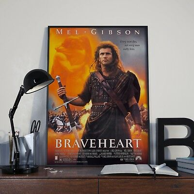 Braveheart Movie Film Poster Print Picture A3 A4