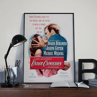 Alfred Hitchcock Under Capricorn Cinema Movie Film Poster Print Picture A3 A4