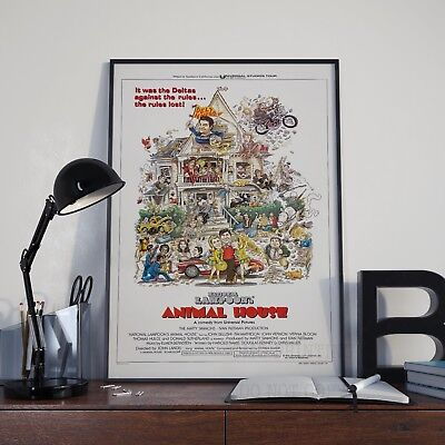 National Lampoons Animal House Movie Film Poster Print Picture A3 A4 Posters