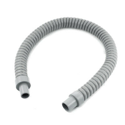1pcs Plastic Water Drain Pipe Hose 60cm Long for Air Conditioner Gray L7G6 Y2L5