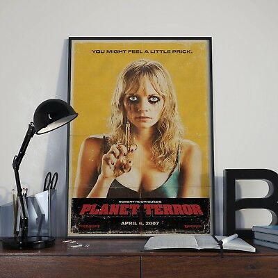 Robert Rodriguez Planet Terror Movie Film Poster Print Picture A3 A4 Posters