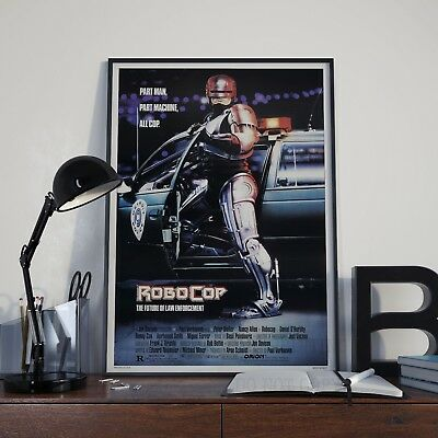 Robocop Classic 80's Cop Peter Weller Movie Film Poster Print Picture A3 A4