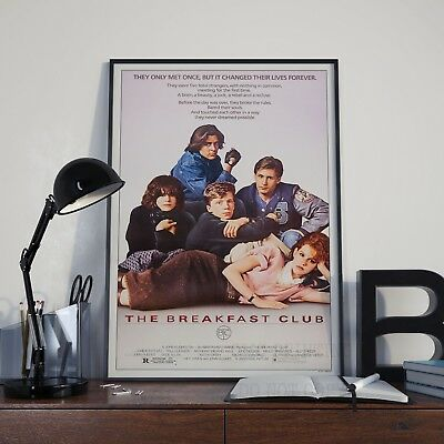 The Breakfast Club Movie Film Cinema Print Poster Picture A3 A4 80's Posters