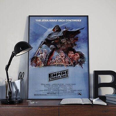 Star Wars The Empire Strikes Back Movie Film  Poster Print Picture A3 A4 Posters