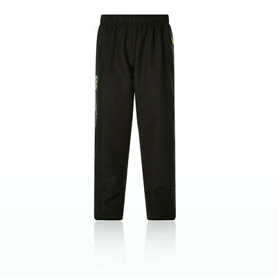 Canterbury Unisex Tapered Cuff Boys Woven Pants Black Sports Top Lightweight