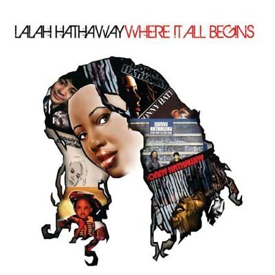 Lalah Hathaway - Where It All Begins CD CONCORD
