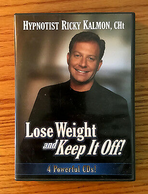 Hypnotist RICKY KALMON - Lose Weight And Keep It Off - 4 CD Set