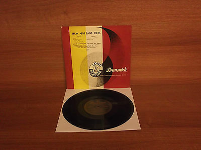 Louis Armstrong & The All Stars : NEW ORLEANS DAYS : 10'' Vinyl : LA 8537