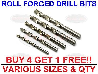 x10 HSS Drills Rolled Ground Bits *LOWEST PRICE* High Quality Anchor UK