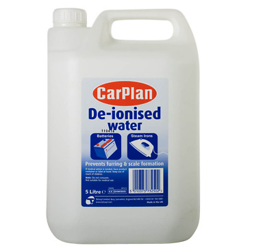 CarPlan De-ionised Water Car Battery Top Up 5, 10 or 15 litre - DIW005 Deionised