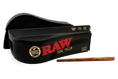 RAW Rolling Papers/Shooter/Filler/Loader - 1 1/4 for Pre-Rolled Cones
