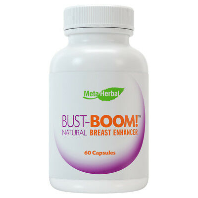 Bust Boom Breast Enlargement Pills Female Enhancement Clears Acne Helps PMS