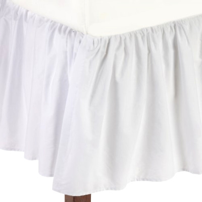 American Company Crib Bed Skirt Baby Percale Dust Ruffle 100 Cotton Drop