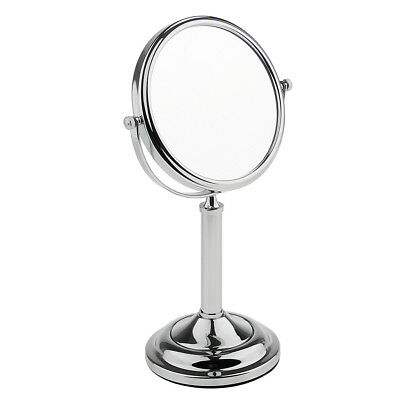 Bathroom Free Stand Vanity Dual Side Shaving Make Up Mirror 3x Magnifying 6""
