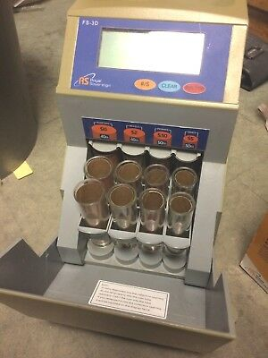 ROYAL SOVEREIGN Fast Sort FS-3D Digital Automatic COIN SORTER