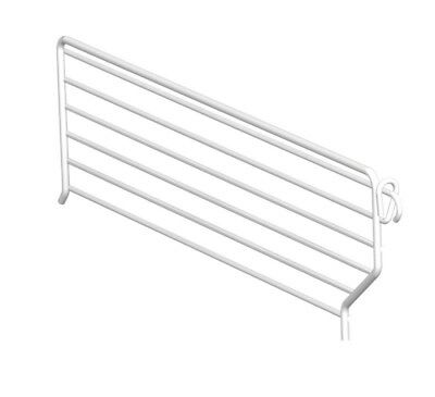Lozier Divider 3 In. X 13 In. For Use With Lozier Shelving Cool White Pack of 20