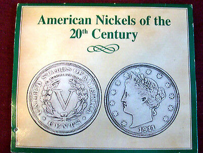 4 Coin Set - American Nickels of the 20th Century #1605