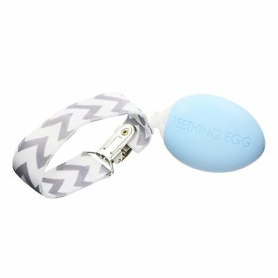 The Teething Egg® Teething Toy - Baby Blue