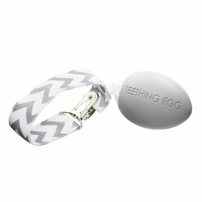 The Teething Egg® Teething Toy - Soft Gray