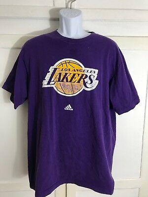 c9133693e69 NBA Team Color Primary Logo Wordmark Graphic T-Shirt by Adidas Men s Sz. XL