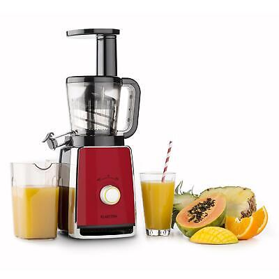 saftpresse slow juicer entsafter edelstahl frucht einf llrohr obst mixer 400w eur 84 99. Black Bedroom Furniture Sets. Home Design Ideas