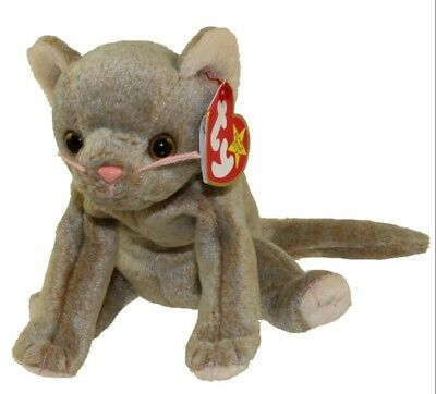 TY Beanie Baby - SCAT the Cat (1998) RETIRED